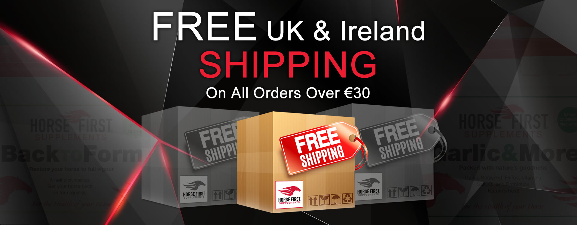 FREE UK and Ireland Delivery!